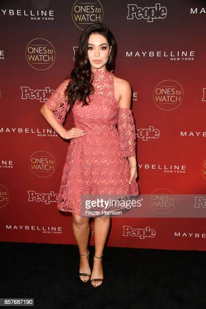Auli'i Cravalho attends People's Ones To Watch at NeueHouse Hollywood on October 4 2017 in Los Angeles California