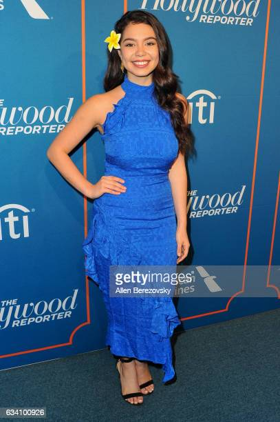Auli'i Cravalho attends The Hollywood Reporter 5th Annual Nominees Night at Spago on February 6 2017 in Beverly Hills California