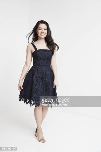 Auli'i Cravalho of 'Rise' poses for a photo during NBCUniversal Upfront Events Season 2017 Portraits Session at Ritz Carlton Hotel on May 15 2017 in...
