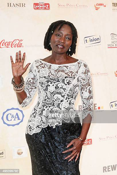 Auma Obama attends the 1st Act Now Jugend Award at FriedrichstadtPalast on November 2 2015 in Berlin Germany