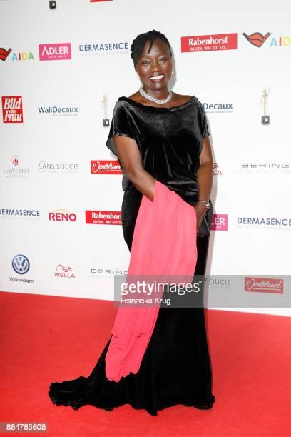 Auma Obama attends the 'Goldene Bild der Frau' award at Hamburg Cruise Center on October 21 2017 in Hamburg Germany