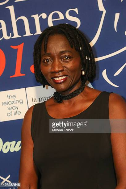 Auma Obama attends the Look Women Of The Year Awards 2015 at the city hall on November 17 2015 in Vienna Austria
