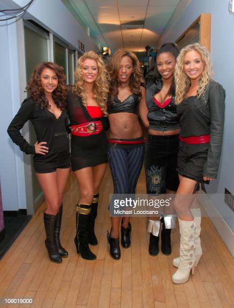 Aundrea Fimbres Aubrey O'Day Dawn Richard Wanita D Woods Woodgette and Shannon Bex of Danity Kane