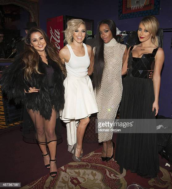 Aundrea Fimbres Shannon Bex Dawn Richard and Aubrey O'Day of Danity Kane attend DKLA The Return Of Danity Kane at House of Blues Sunset Strip on...