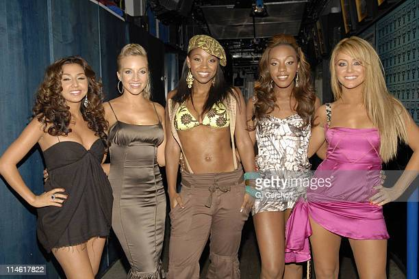 Aundrea Fimbres Shannon Bex Wanita D Woods Woodgette Dawn Richard and Aubrey O'Day of Danity Kane