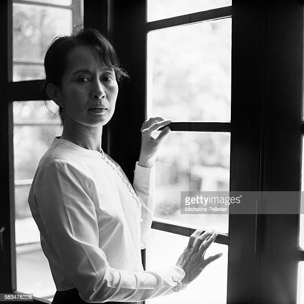 Aung San Suu Kyi 1991 Nobel Peace Prize laureate