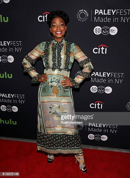 "Aunjanue Ellis attends PaleyFest New York 2016 ""Quantico"" at The Paley Center for Media on October 17, 2016 in New York City."