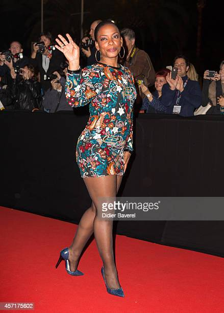 Aunjanue Ellis attends the opening red carpet party MIPCOM 2014 at Hotel Martinez on October 13, 2014 in Cannes, France.