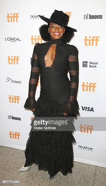 Aunjanue Ellis attends the 'The Birth of a Nation' Red Carpet Premiere during the 2016 Toronto International Film Festival premiere at Princess of...
