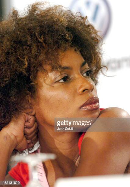 "Aunjanue Ellis during 2004 Toronto International FIlm Festival - ""Ray"" Press Conference at Four Seasons in Toronto, Ontario, Canada."