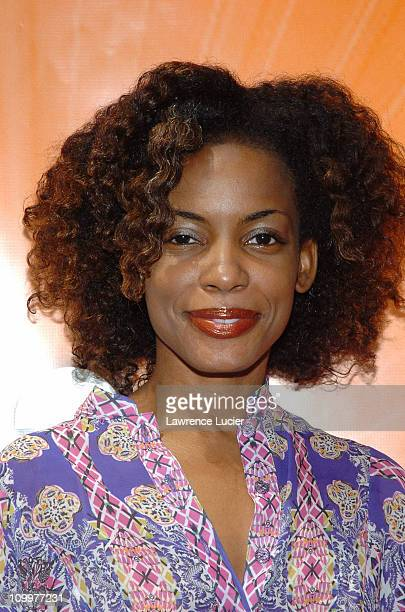 Aunjanue Ellis during 2005/2006 NBC UpFront - Red Carpet at Radio City Music Hall in New York, NY, United States.