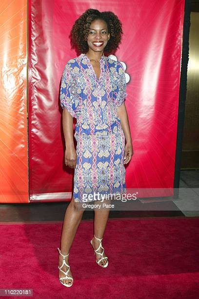 "Aunjanue Ellis of ""E-Ring"" during 2005/2006 NBC UpFront - Red Carpet at Radio City Music Hall in New York City, New York, United States."