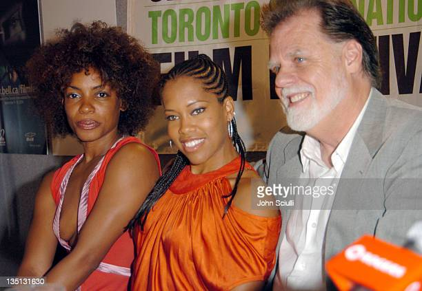 Aunjanue Ellis, Regina King and Taylor Hackford, director