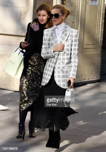 aura Bailey attends the Chanel Haute Couture Spring/Summer 2020 show as part of Paris Fashion Week on January 21 2020 in Paris France
