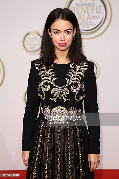 Aura Dione attends the McDonald's charity gala on November 13 2015 in Cologne Germany