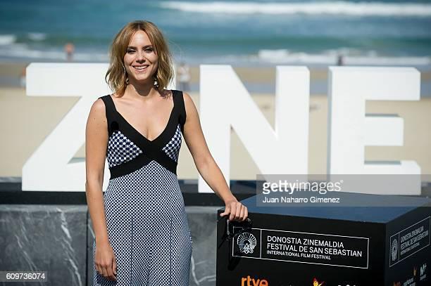 Aura Garrido attends 'La Reconquista' photocall during 64th San Sebastian Film Festival on September 22 2016 in San Sebastian Spain