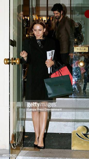 Aura Garrido attends the tribute party for Diane Vreeland hold by Harper's Bazaar on October 27 2015 in Madrid Spain