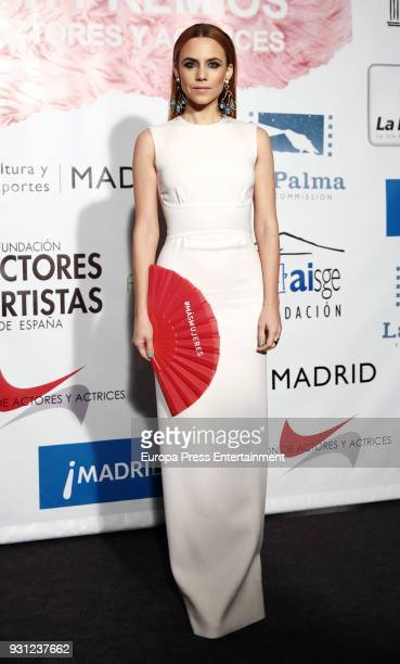 Aura Garrido attends the Union de Actores Awards at the Circo Price on March 12 2018 in Madrid Spain