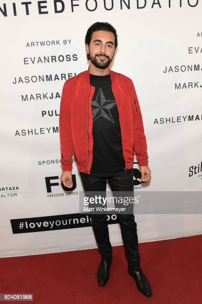 Ash Nouri attends Freedom United Foundation presents Art with a Cause on July 27 2017 in Los Angeles California