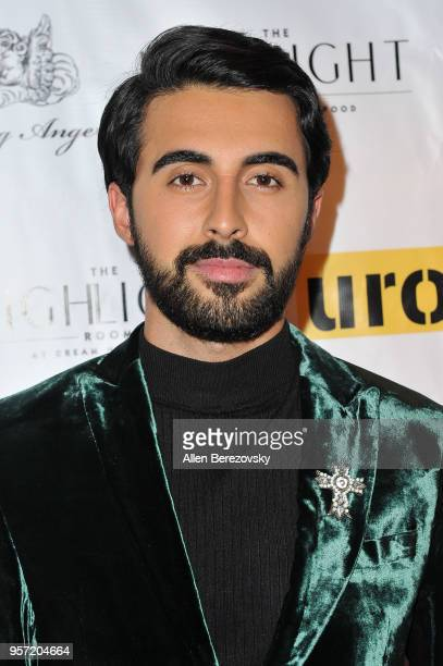 Ash Nouri attends UROK Foundation Charity Event hosted by Jaclynn Marvin Scott Jarrett founders of NYLON Magazine and POPULAR TV at The Highlight...
