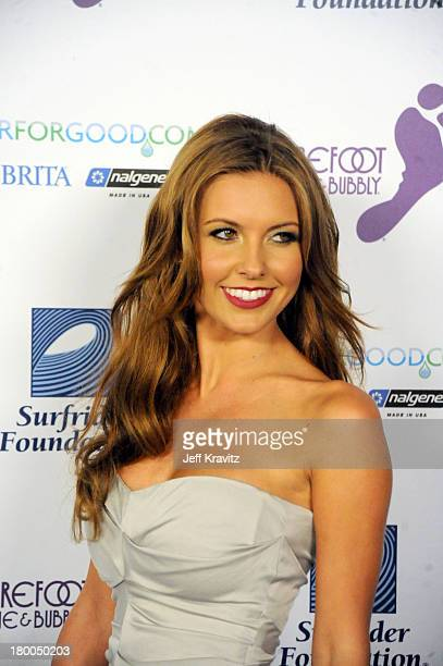 Aurdina Partridge attends The Surfrider Foundation's 25th Anniversary Gala at the California Science Center's Wallis Annenberg Building on October 9...