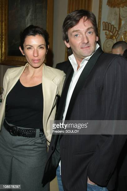 Aure Atika and Pierre Palmade in Paris France on March 31 2009
