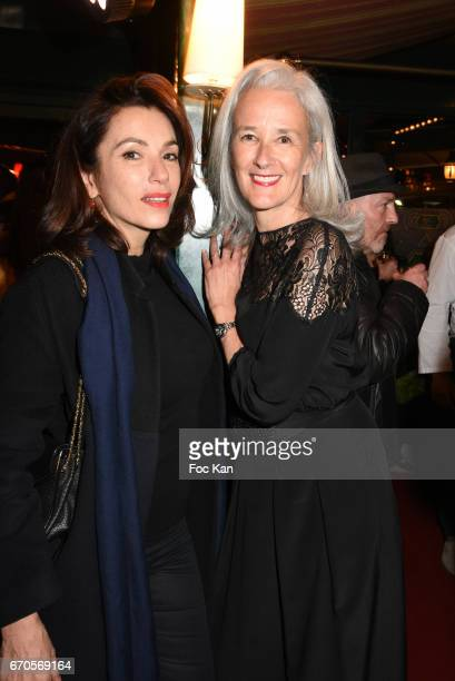 Aure Atika and Tatiana de Rosnay attend 'La Closerie Des Lilas' Literary Awards 2016 At La Closerie Des Lilas on April 19 2017 in Paris France