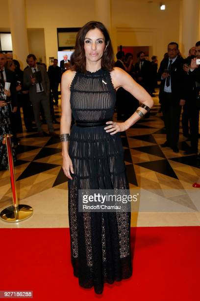 Aure Atika arrives at the Cesar Film Awards 2018 At Salle Pleyel on March 2 2018 in Paris France