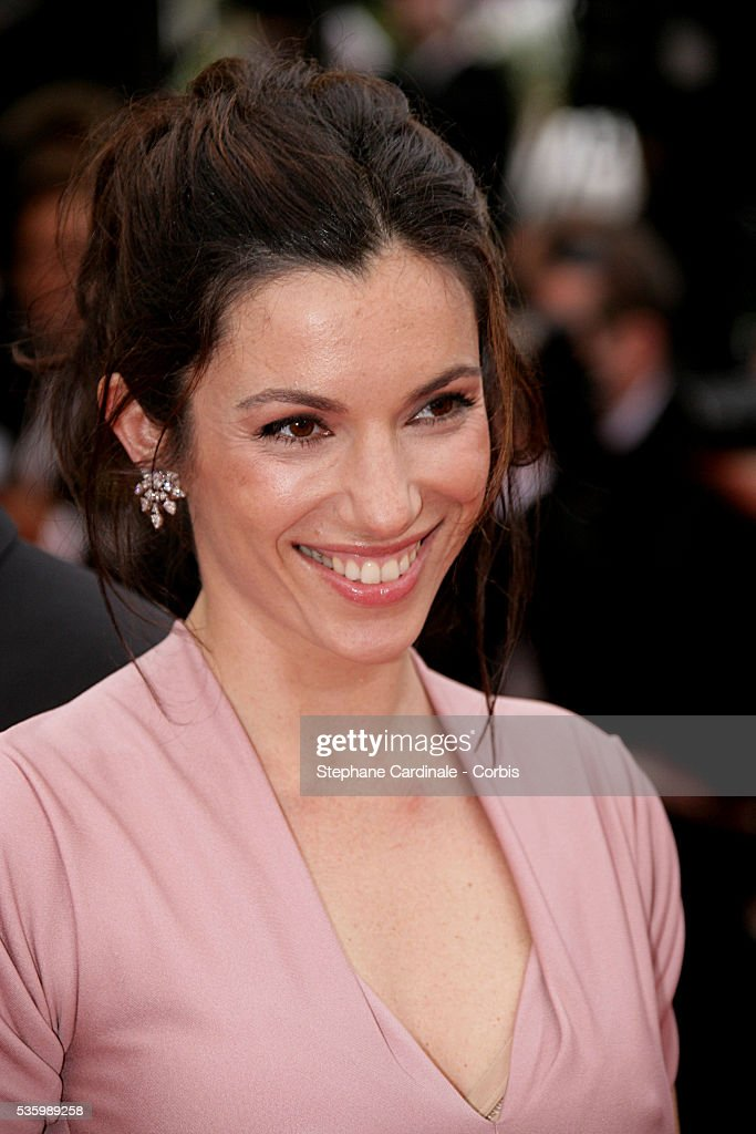Aure Atika at the premiere of 'Il Caimano' during the 59th Cannes Film Festival.