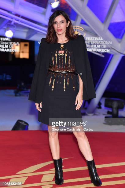 """Aure Atika attends the """"Green Book"""" Premiere during the 17th Marrakech International Film Festival on December 4, 2018 in Marrakech, Morocco."""