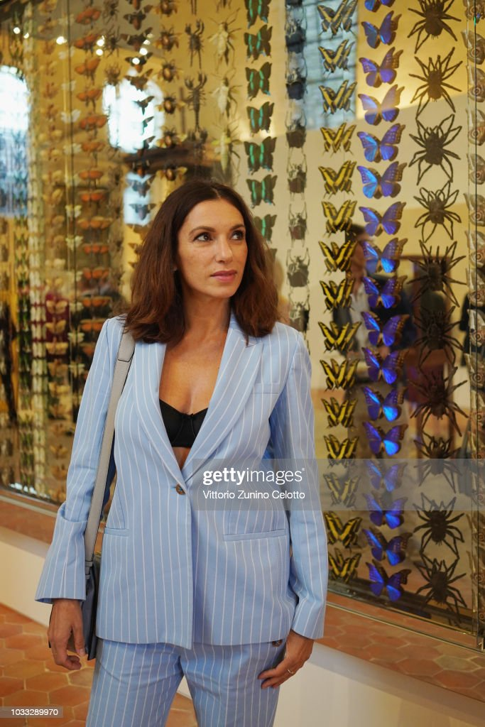 Aure Atika attends The Kering Heritage Days Opening Night at 40 Rue de Sevres on September 14, 2018 in Paris, France.