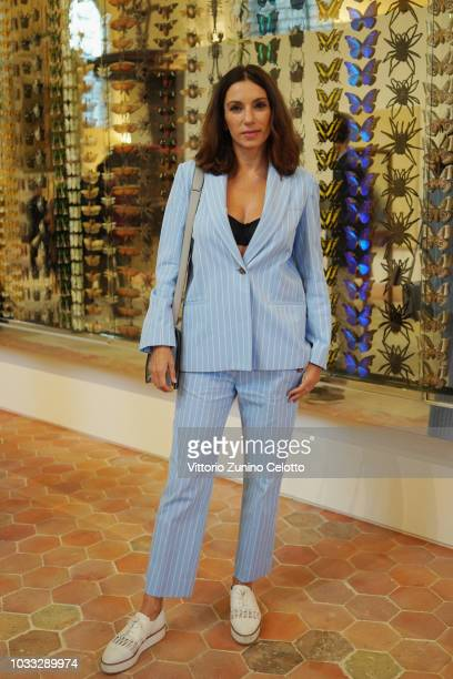 Aure Atika attends The Kering Heritage Days Opening Night at 40 Rue de Sevres on September 14 2018 in Paris France