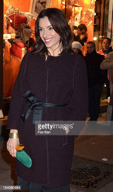PARIS FRANCE NOVEMBER Aure Atika attends the Lancel celebration of '135 Years Of French Legerete' Hosted By Sienna Miller at Lancel Shop Champs...
