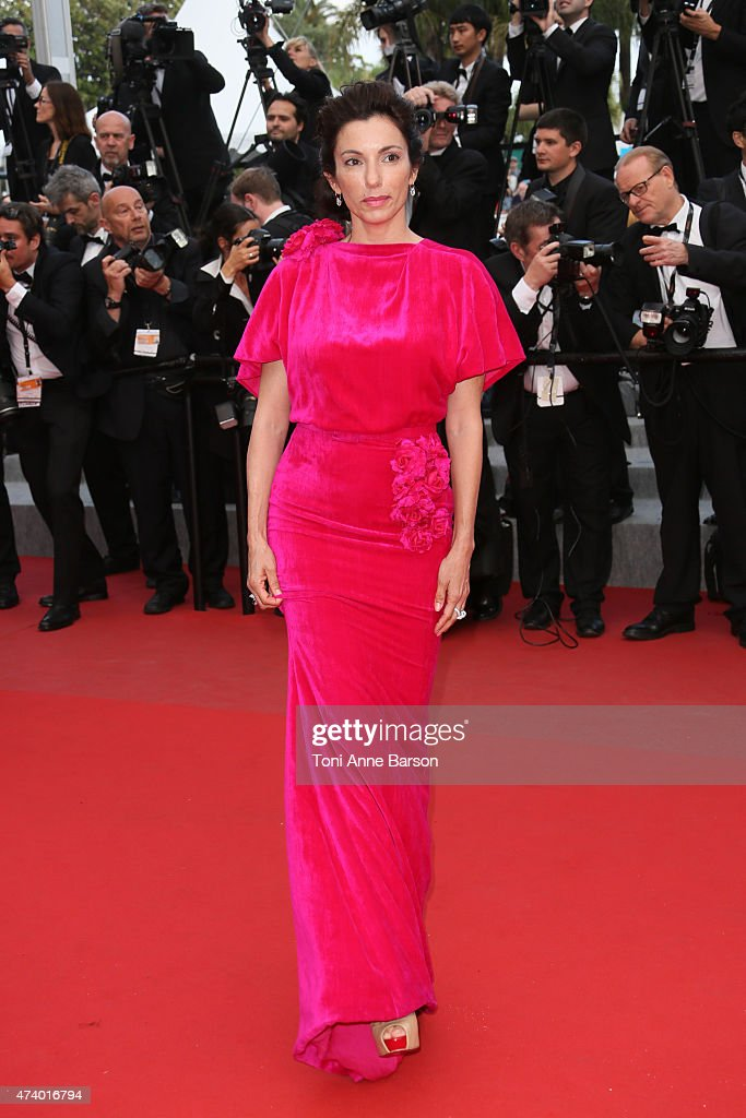 Aure Atika attends the 'Sicario' premiere during the 68th annual Cannes Film Festival on May 19, 2015 in Cannes, France.