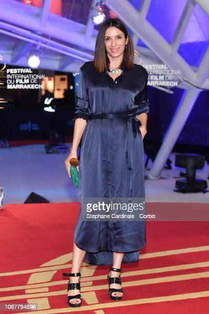 Aure Atika attends the Tribute to Agnes Varda during the 17th Marrakech International Film Festival on November 2 2018 in Marrakech Morocco