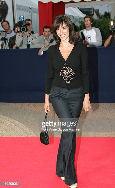 Aure Atika during 30th Deauville American Film Festival Tribute to Glenn Close at CID in Deauville