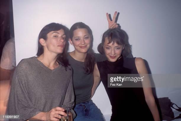Aure Atika, Marion Cotillard and Helene de Fougerolles