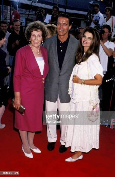 Aurelia Jadrny Arnold Schwarzenegger and Maria Shriver
