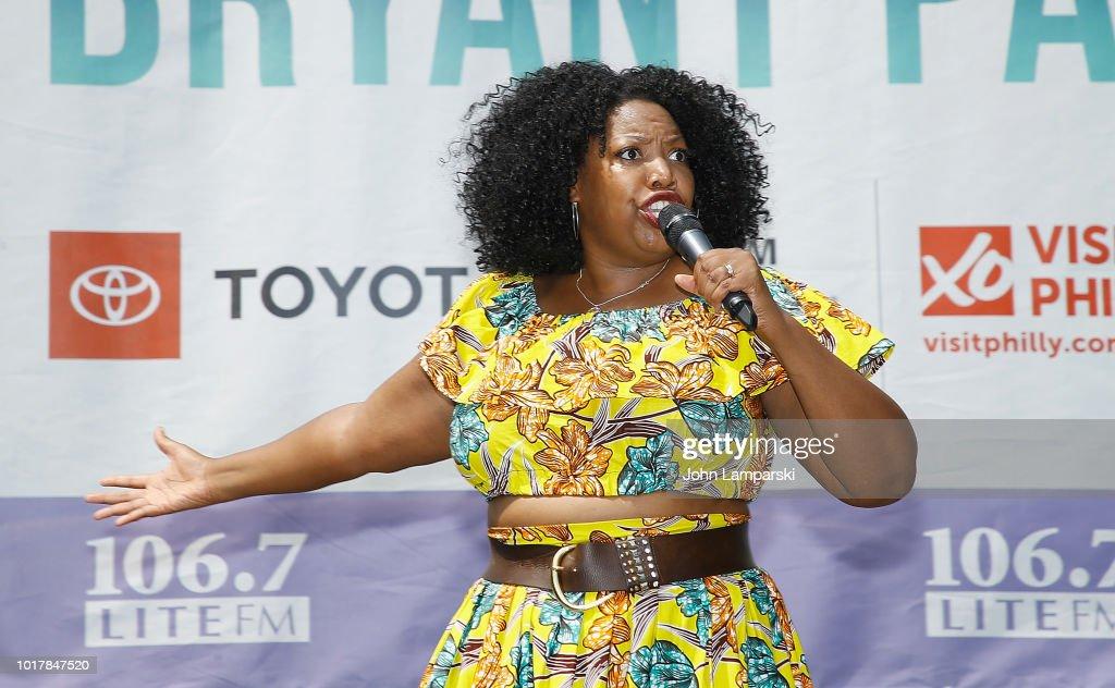 106.7 LITE FM's Broadway In Bryant Park - August 16, 2018