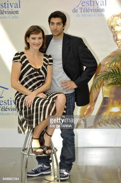 Aurelie Barjeme plays in the French Tv serie 'RI S Police Scientifique' Mathieu Delarive plays in 'Cellule D'identite'