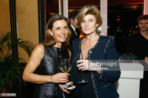 Aurelie Boue and Joelle Perrier attend the Mastermind Magazine launch dinner as part of Paris Fashion Week Womenswear Fall/Winter 2017/2018 at Loulou...