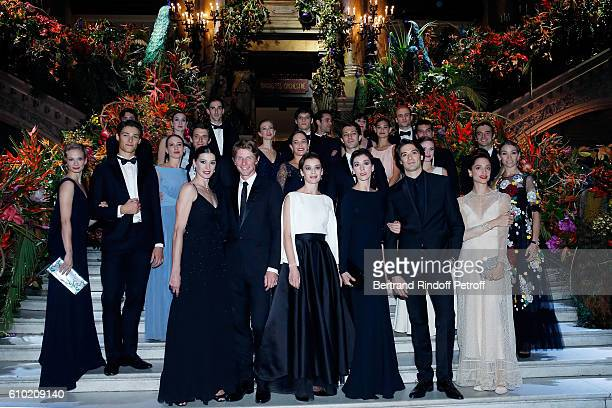 Aurelie Dupont and 18 Stars Dancers of Opera de Paris attend the Opening Season Gala at Opera Garnier on September 24 2016 in Paris France