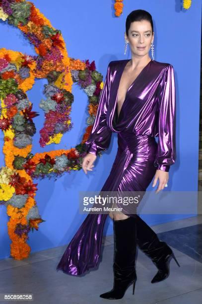 Aurelie Dupont arrives to the opening season gala at Opera Garnier on September 21 2017 in Paris France