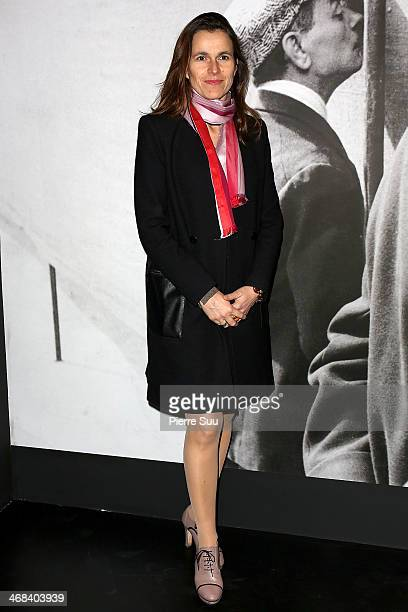 Aurelie Filippetti attends the Henri CartierBresson Opening Night at Centre Pompidou at Centre Pompidou on February 10 2014 in Paris France