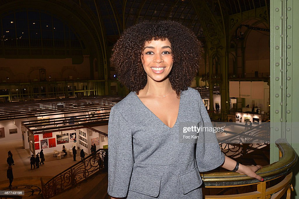 Aurelie Konate attends the 'Diamond Night by Divinescence Vendome' - Harumi Klossowska Jewellery Exhibition Preview As Part Of Art Paris Art Fair at the Grand Palais on March 26, 2015 in Paris, France.