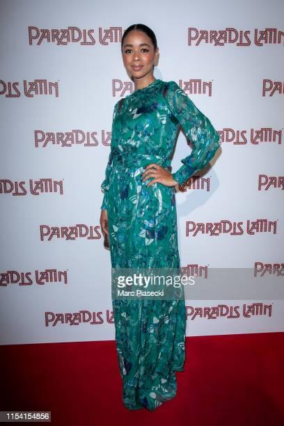 Aurelie Konate attends the L'Oiseau Paradis show at Le Paradis Latin on June 06, 2019 in Paris, France.