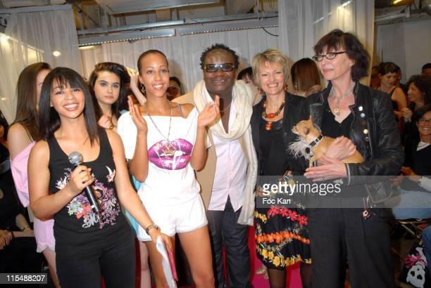 Aurelie Konate, Aurelie Psssy Princess 2007, Magloire, guest and Viviane Blassel