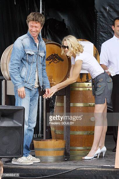 Aurelie Nollet in Cognac France on June 23 2007