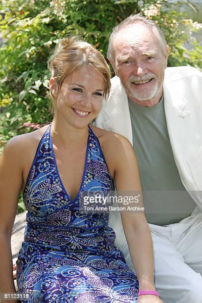 Aurelie Vaneck and Pierre Vaneck