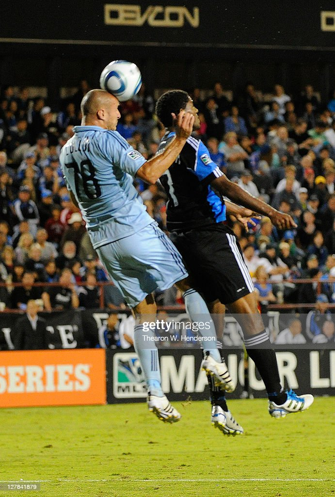 Sporting Kansas City v San Jose Earthquakes : News Photo